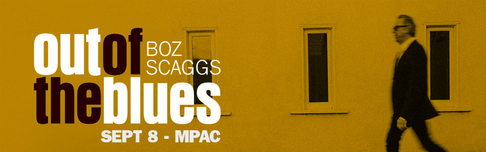 Boz Scaggs at the MPAC on September 8th