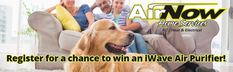 Register for a chance to win an iWave Air Purifier from AirNow!